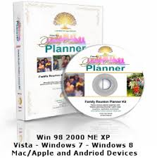 family reunion booklet sle five family reunion themes with planning software and worksheets