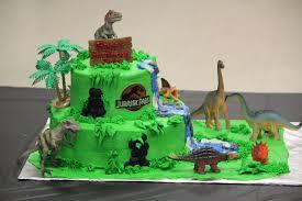 designs by lamuir jurassic park dinosaur cake