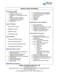 Oracle Applications Consultant Resume Download Oracle Apps Technical Consultant Resume Docshare Tips