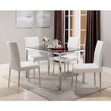 Glass Dining Room Table In P Puchatek - Glass dining room