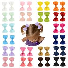 different types of hair bows prohouse baby ribbon hair bow barrettes
