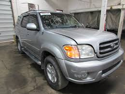 used toyota sequoia parts parting out 2002 toyota sequoia stock 150204 tom s foreign