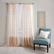 Sheer Coral Curtains Buy Coral Curtain Panels From Bed Bath Beyond