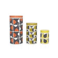owl canisters for the kitchen orla kiely tin canisters set of 3 elephant owl hen orla