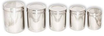 stainless steel canister sets kitchen 5 stainless steel canister set kitchen storage