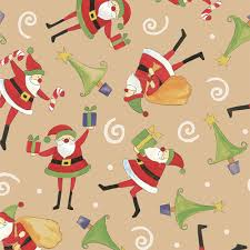 the night before christmas kraft gift wrap innisbrook wrapping paper