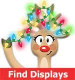original worldwide christmas light display finder