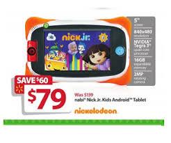 android tablet black friday nabi nick jr 5 inch tablet 16gb deal at walmart black friday sale