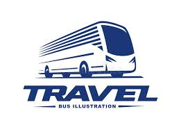 travel by bus images Travel bus illustration on light background stock vector jpg