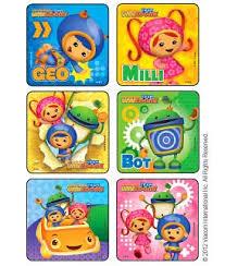 team umizoomi stickers kids love stickers medibadge
