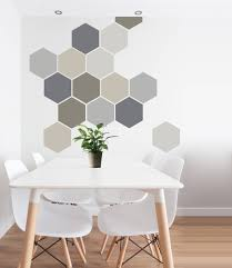 Removable Wall Decal 8 Self Adhesive Geometric Wall Art in  Etsy