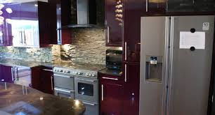 kitchen purple kitchens design ideas stunning purple kitchen