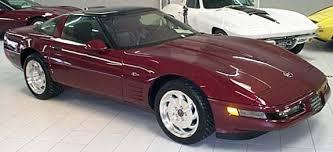 1993 corvette 40th anniversary corvette spotlight of the month 1993 40th anniversary zr 1