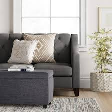double storage ottoman dark gray room essentials target