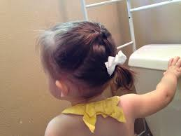 Hairstyles For Toddlers Girls by Toddler Hair Style Easy And Quick Hairstyle For A Toddler