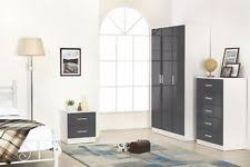 grey bedroom furniture sets ebay