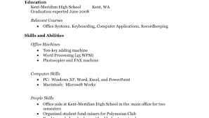 12 easy high resume samples no experience 2 with for