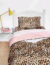 Cheetah Twin Comforter Twin Victoria U0027s Secret Pink Tropical Palms Bed In A Bag Comforter