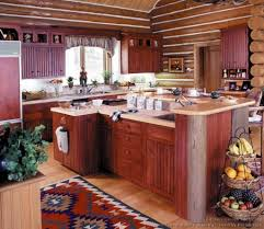 log home kitchen design 1000 images about log cabin kitchens on
