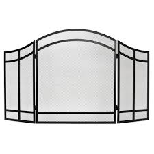home decorators collection salishan 3 panel fireplace screen