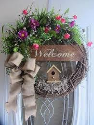 front door wreath ideas spring wreath summer wreath front door wreath by flowerpowerohio