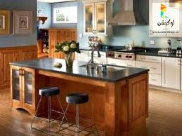 incorporate a support post into kitchen island remodel cool how