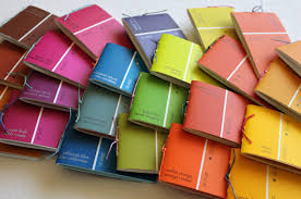 Paint Chips by Prairie Peasant Paint Chip Notepads Complete