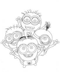 despicable coloring pages minions coloring sheets