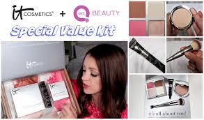 sale alert it cosmetics qvc special value kit