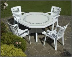 white plastic patio dining table patios home design ideas plastic