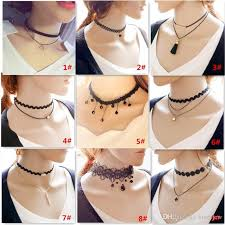 jewelry chokers necklace images Online cheap lace necklaces chokers creative simple jewelry jpg