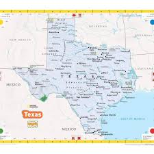 Map Of Oklahoma State by Giant Traveling Map Of Texas Texas Alliance For Geographic
