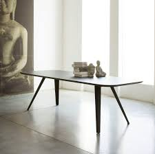Designer Dining Tables Contemporary Dining Table Mdf Ash Rectangular Aki Met By