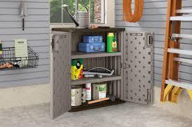 suncast wall storage cabinet platinum suncast 30 w x 36 h x 20 1 4 d platinum base storage cabinet at