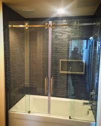 Non Glass Shower Doors Non Glass Shower Doors Womenofpower Info