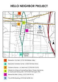 Map Of Beaverton Oregon by Beaverton Or