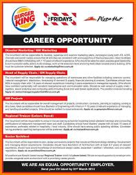 6 burger king jobs portfolio covers