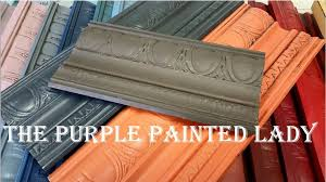 making u201cbrown u201d with chalk paint the purple painted lady