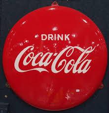 file enamel advertising sign coca cola langcat bussum jpg