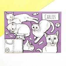 graphic fluffy fellows illustration