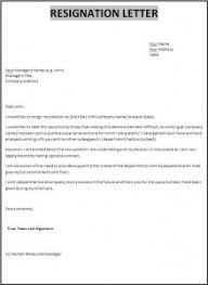 letter of resignation from teaching position sample u0026 templates