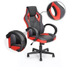 Red Office Furniture by Amazon Com Computer Chair Gaming Chair Racing Chair Coavas Office
