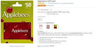 applebee gift card get 50 applebee s gift card for 39 danny the deal guru