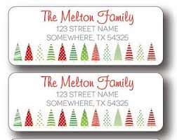 wood return address labels wood grain stickers christmas intended
