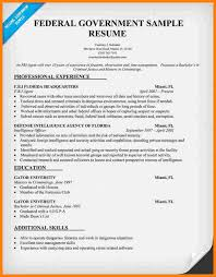 Government Sample Resume Government Job Resume Samples Sample Template With How To Write A