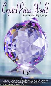 Crystal Chandelier Ball Lilac Chandelier Ball 40mm Item B996