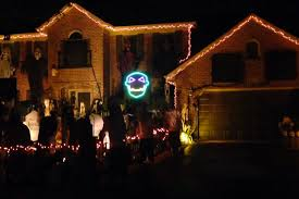 watch halloween lights synced to awolnation u0027sail u0027