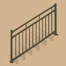 stair railing kits adjustable angle stair rail kit solutions