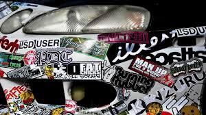 jdm honda sticker sticker bomb sticker bombing car by autoaufkleber24 youtube