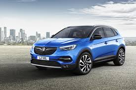 vauxhall blue first pictures of vauxhall u0027s new grandland x crossover